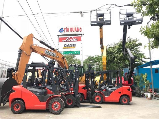 Tín Quang - Dịch vụ cho thuê xe nâng TPHCM
