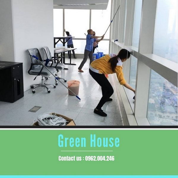 Dịch vụ vệ sinh công nghiệp tphcm Nguyên Trung Green House