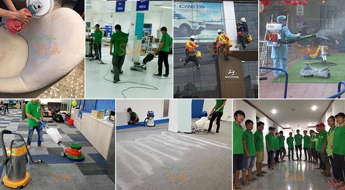 công ty dịch vụ vệ sinh tại tphcm Không Gian Sạch