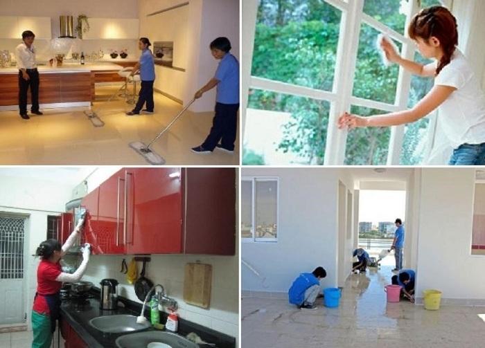 công ty dịch vụ vệ sinh tại tphcm Năm Sao – Quận 12