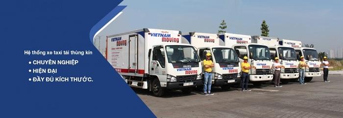 Công Ty Vietnam Moving – Cho thuê xe tải chở hàng Quận 1