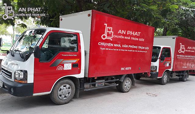 Dịch vụ thuê xe chở hàng tphcm của Vận tải An Phát